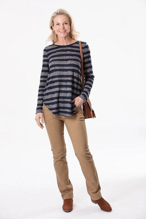 Brushed Long Sleeved Top - Style 28541