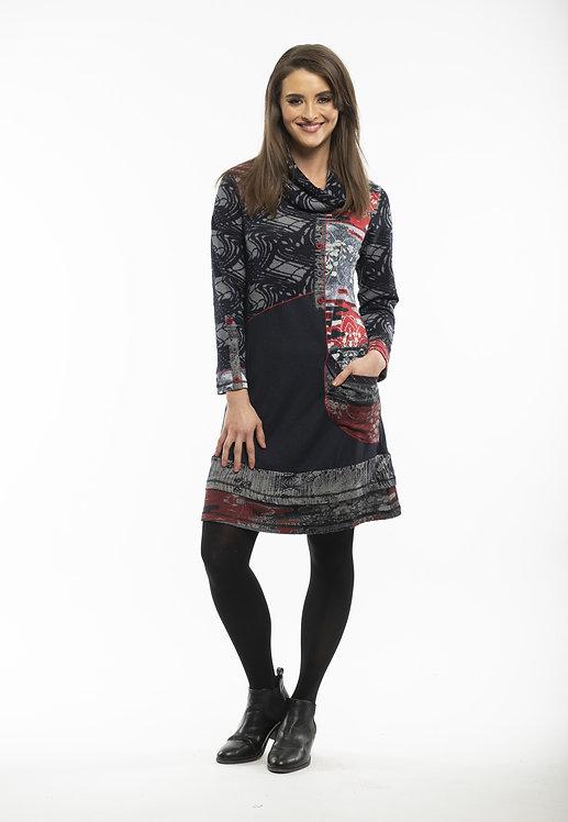 DANTI Cowl Neck Dress - Style 21317