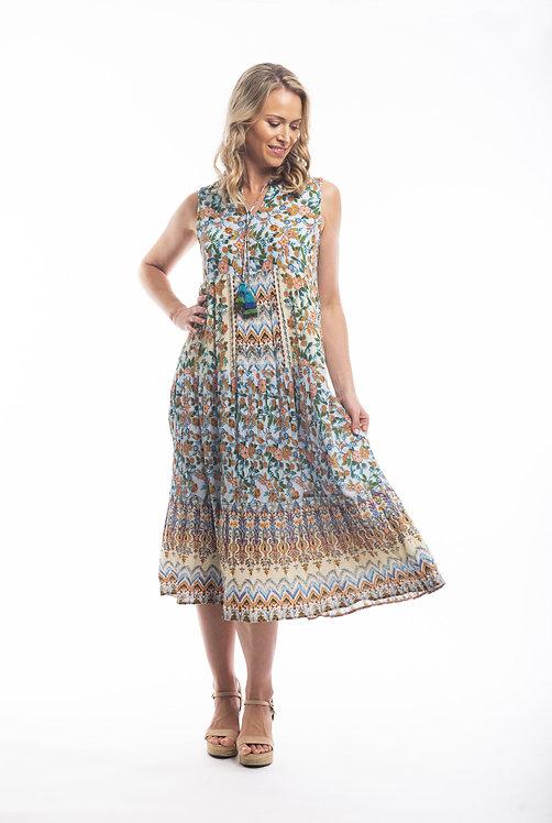 LANZAROTE Midi Dress - Style 81133