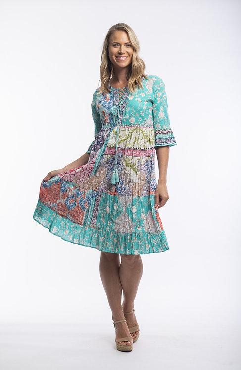 MADEIRA 3/4 Sleeve Dress - Style 52649
