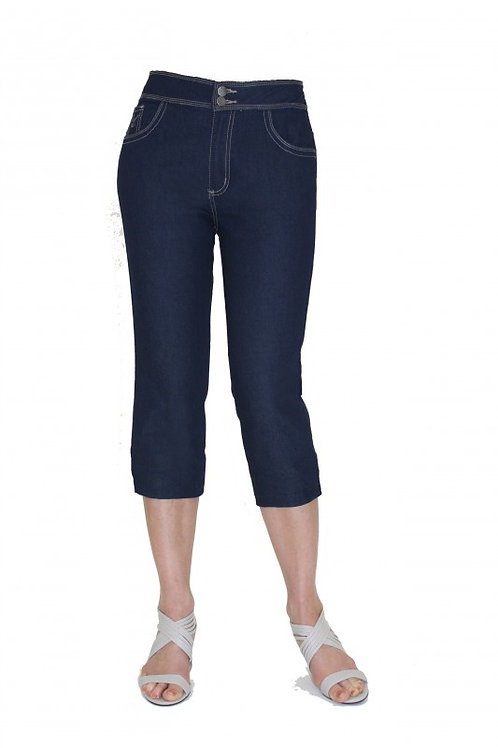 Jess 3/4 Length Denim Jeans - Style RQ1298