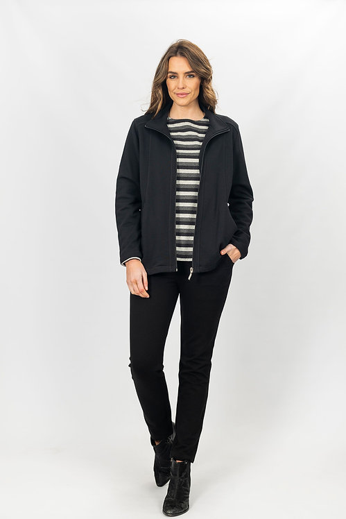 French Terry Zip Jacket - Style 2611
