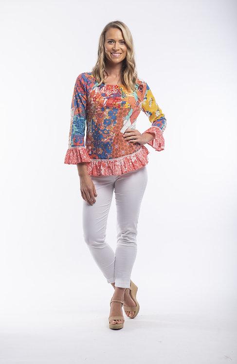 PAMPLONA Boho Style Top - Style 52642