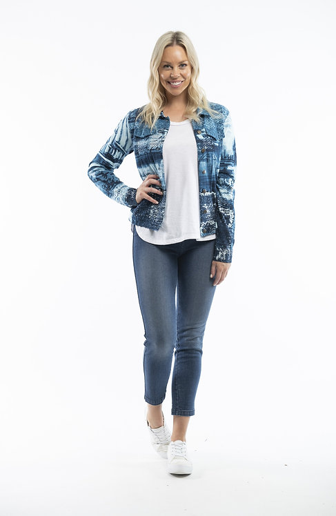 Printed Jacket - Style 22717