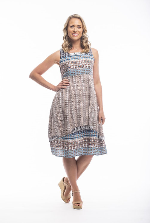 ALCAZAR Square Neck Dress - Style 51640