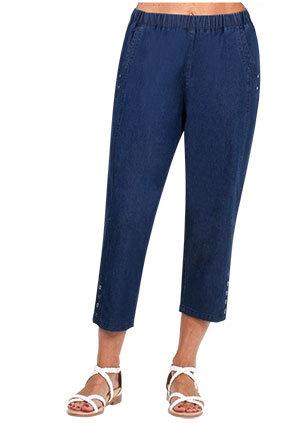 DENIM 3/4 Length Pant - Style 2079