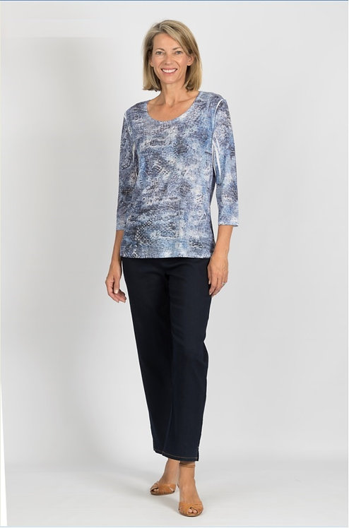 3/4 Sleeved Bling Top - Style 9503.57
