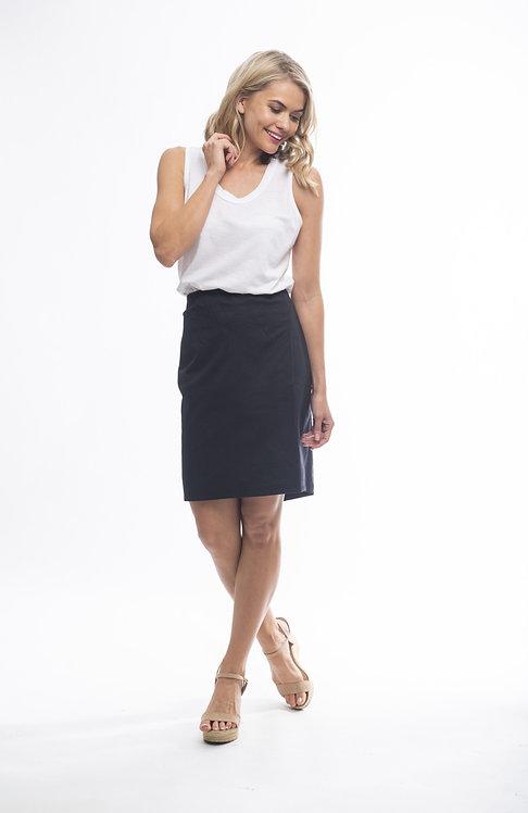 BENGALINE High Waisted Pencil Skirt - Style 56021