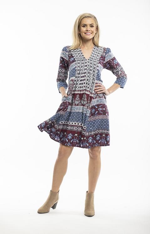 PIERO 3/4 Sleeve Dress - Style 51622