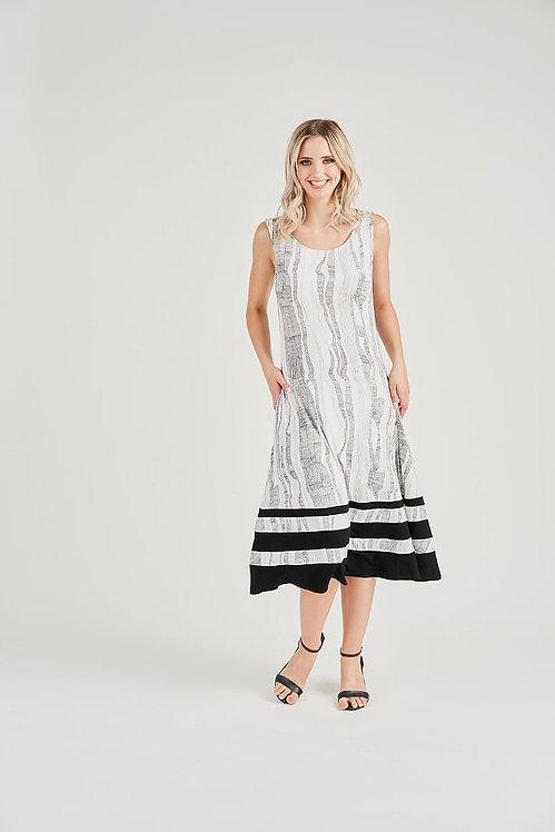Sleeveless A-Line Dress - Style V4360A