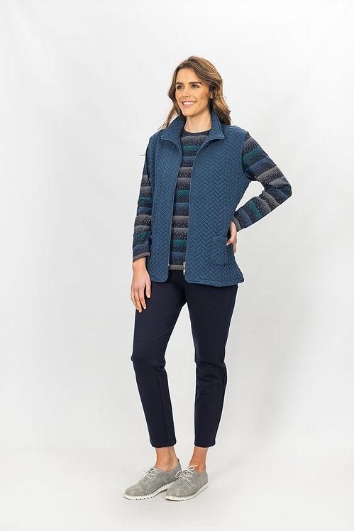 Warm Zip Front Vest - Style 2653