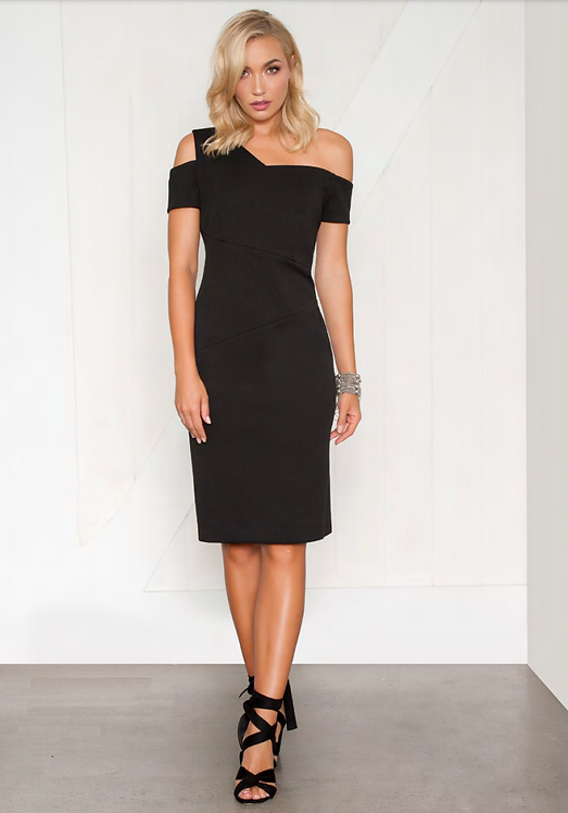 Bodycon Fitted Dress - Style V511