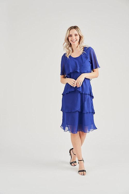 Layered Chiffon Dress - Style V2735