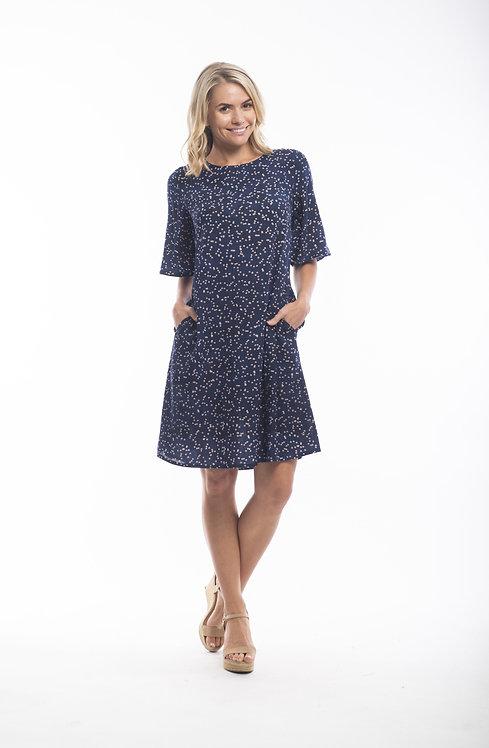 TOLEDO Short Sleeved Dress - Style 71277