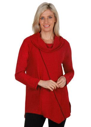 Rib Cowl Knit- Style E1447
