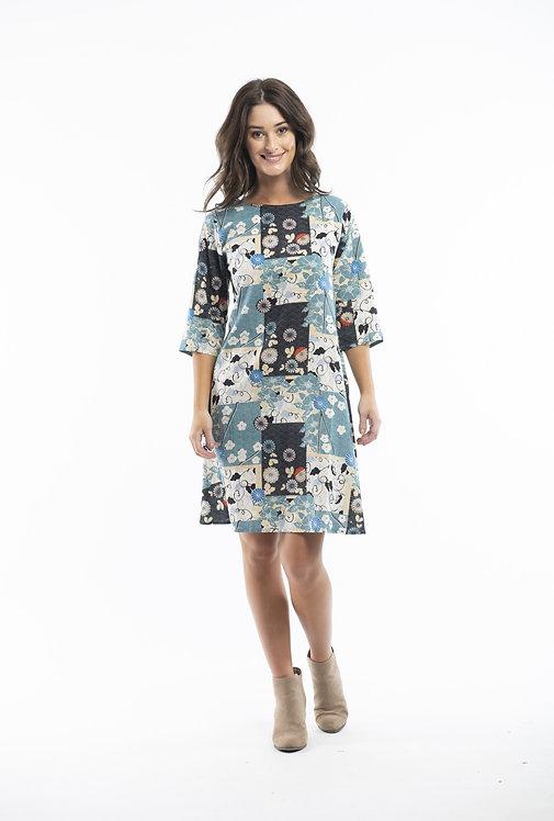 HAMRUN Mid Sleeved Dress - Style 61453