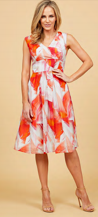 Sleeveless Silk Dress - Style FILLIE