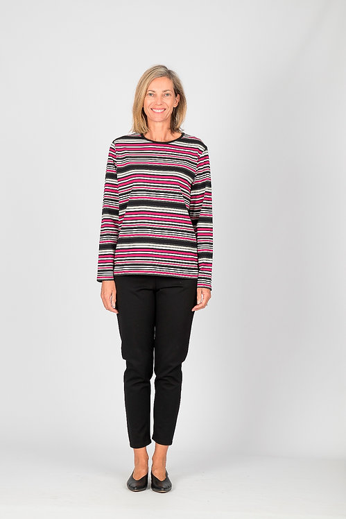 Long Sleeved Stripe Top - Style 0604.46