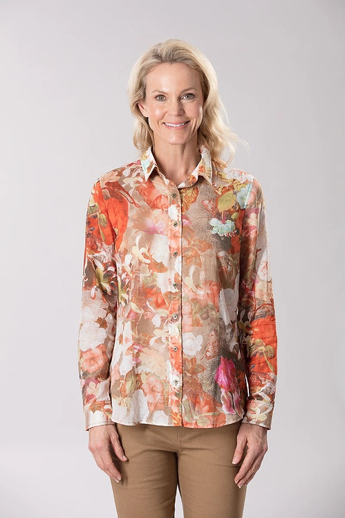Voile Printed Shirt - Style 26382