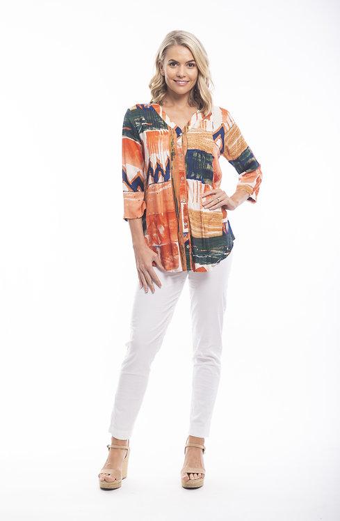 ZARAGOZA 3/4 Sleeve Tunic - Style 72333