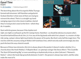 "Album""Equal Time""Downbeat Magazine Review"