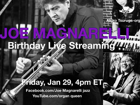 Birthday Live Streaming on Jan 29th 4pm ET