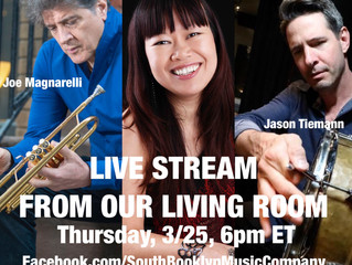 Live Streaming From Our Living Room No.2 Thursday, 3/25, 6pm