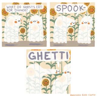 Do Ghosts Joke?