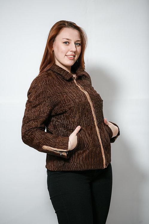 Куртка из меха каракульчи