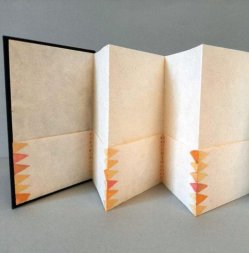 Pocket Concertina Book / Patterned Or Plain