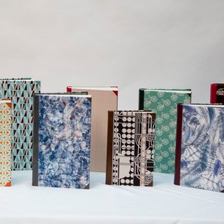 Fiction Uncovered Commission - Quarter Bound In Leather And Decorative Cloths