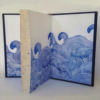 Design Binding Of Julia Rochester's Novel - House At The Edge Of The World