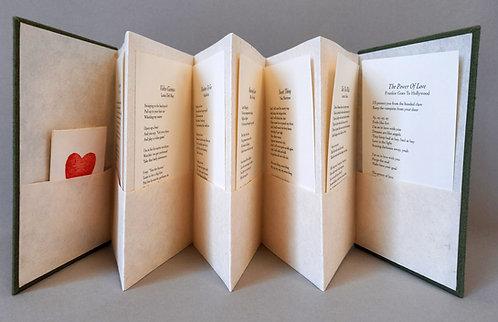 Pocket concertina book - Plain pages