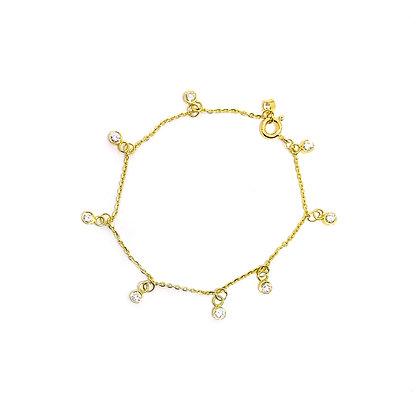 Stone Drop Bracelet