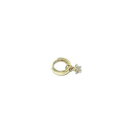 Fulla Small Huggie Hoop (Single)