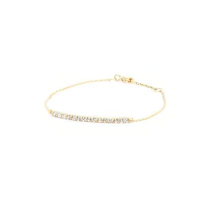 Line Chain Bracelet