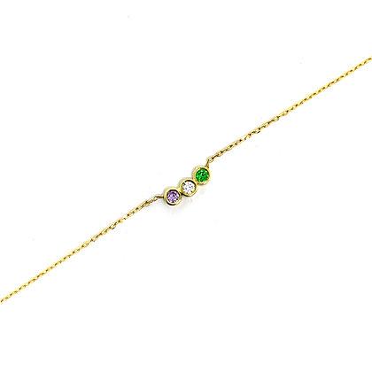 Mini Birthstones Bracelet