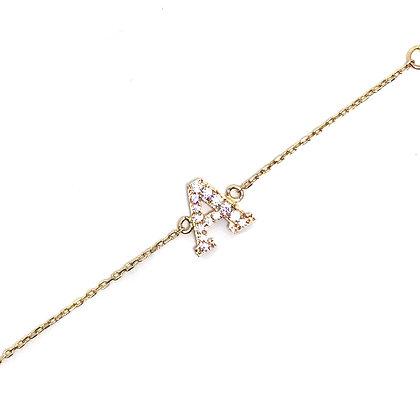 Letter Chain Bracelet