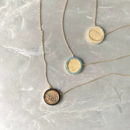 Ayat Al Kursi Coin Necklace