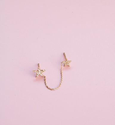 Linked Stars Studs