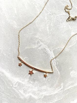 Swinging Stars Necklace