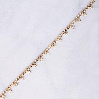 Stones Drops Bold Chain Bracelet