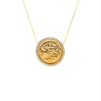 Half Lira Necklace