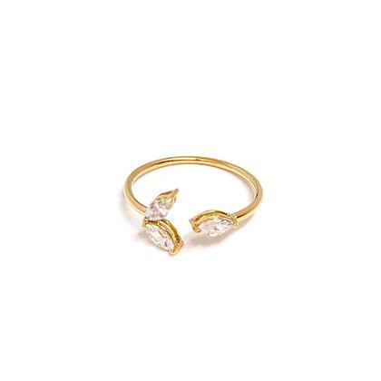 Lotus Open Ring