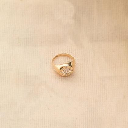 Flower Signet Ring