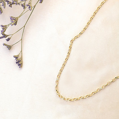 Oval Chain Necklace