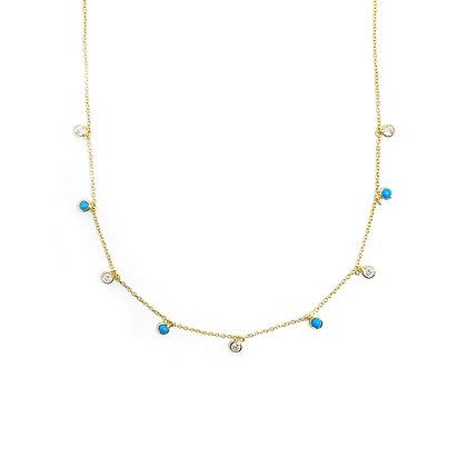 Turquoise Drop Choker/Necklace