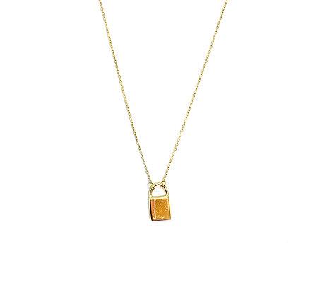 Love Padlock Necklace