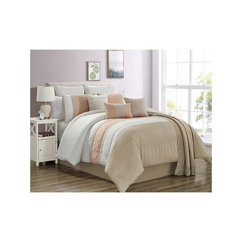 Ashlee Coral Bedding Collection