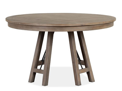 Helena Grey Round Dining Table